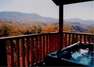 Grand_View_One_hot_tub_view_two_bedroom_cabins_Gatlinburg_TN