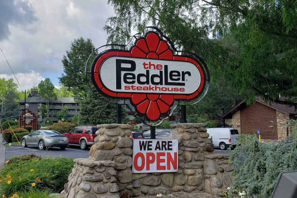the peddler in gatlinburg